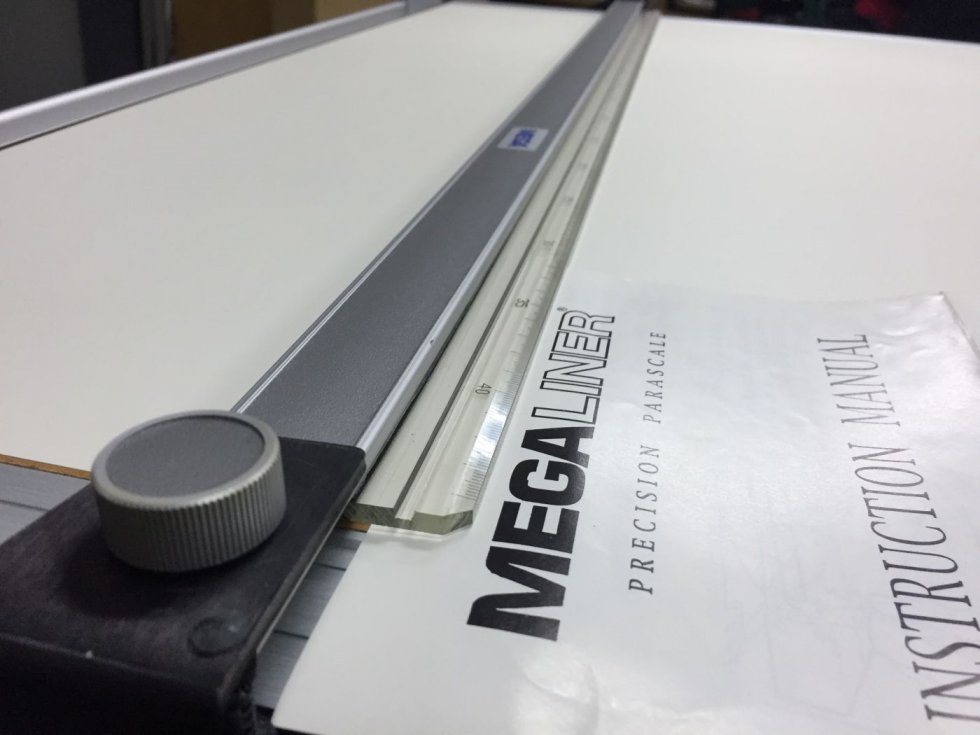 Megaliner A1 Drafting table malaysia