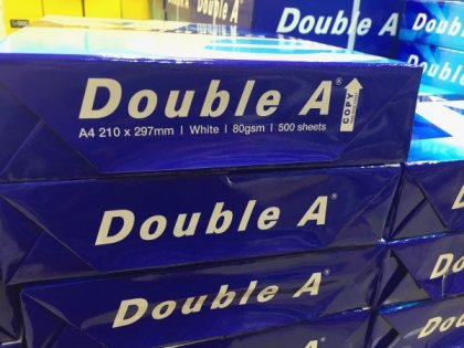 Double A A4 Paper 80gsm online shopping office supply WesternEasternStationery.com Malaysia