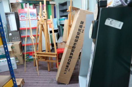 Easel stand stock KL
