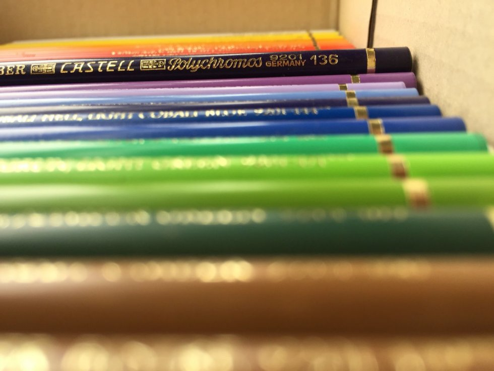 Faber castell polychromos colour pencils in Malaysia
