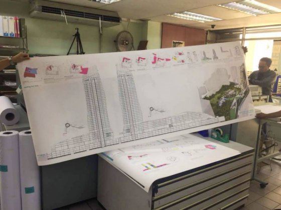 Fast Large Format A1 photocopy Plan Printing KL