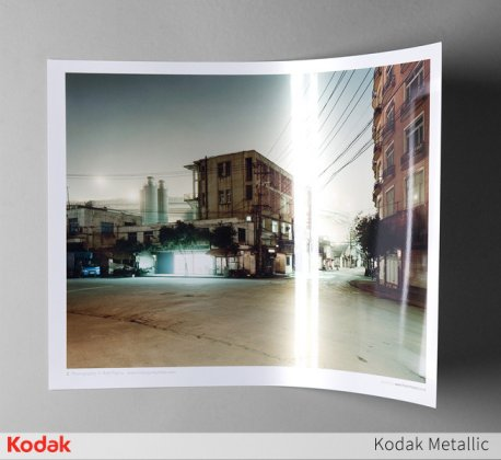 Kodak Metallic photo paper