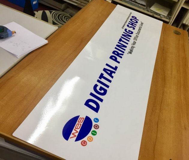 Laminate Paper Laminating Service Digital Printing