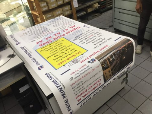 PRINT SERVICE -roll up bunting banner by KL Digital Printing Shop | Western Eastern Stationery printing damansara uptown PJ branch