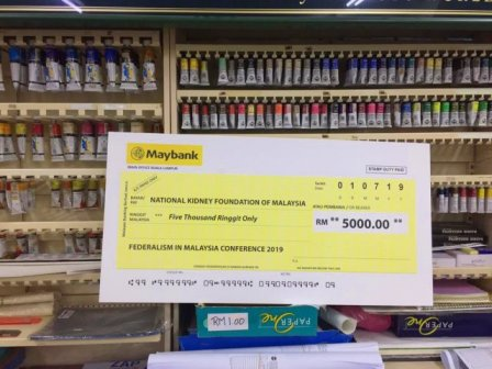 Print mock up cheque cheap and fast photo | WesternEasternStationeryPrinting Sdn Bhd digital print shop