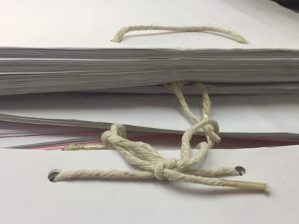 Western Eastern printing service KL-string binding for book diy thread sewn bind in KL